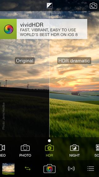ProCamera 8.0 for iOS (iPhone screenshot 001)