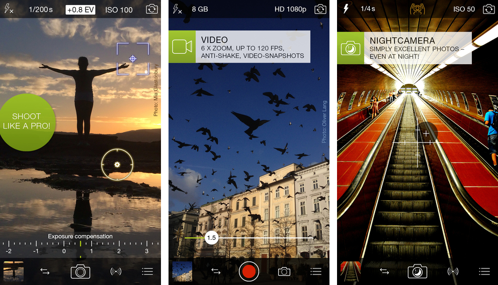 ProCamera 8.0 for iOS (iPhone screenshot 002)