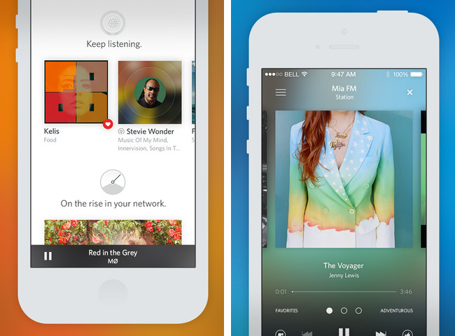 Rdio 3.0 for iOS (iPhone screenshot 001)