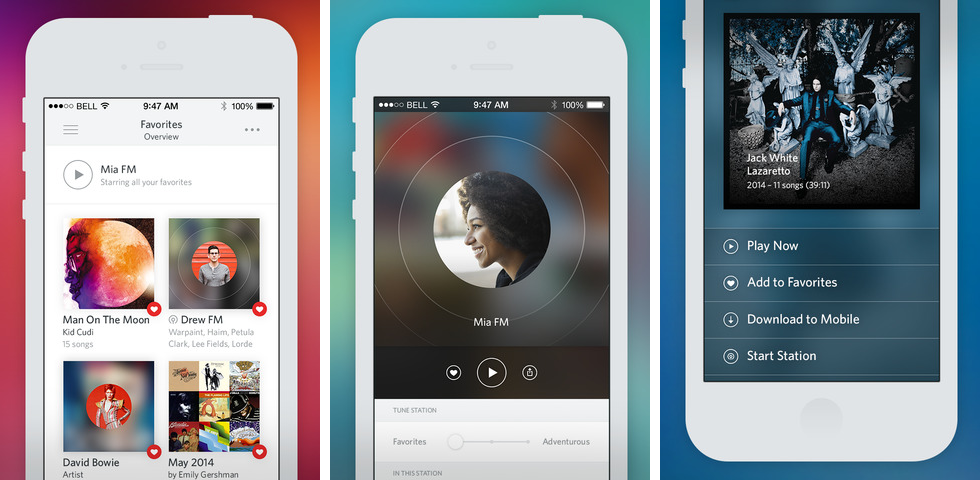 Rdio 3.0 for iOS (iPhone screenshot 002)