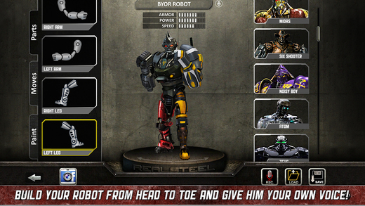 Real Steel 1.20.3 for iOS (iPhone screenshot 003)