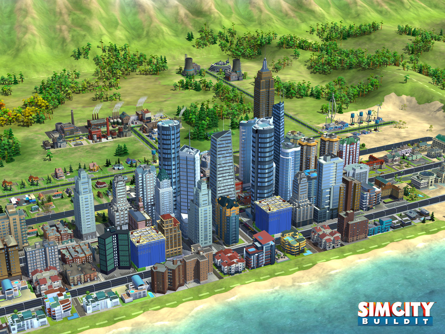 SimCity BuildIt (captura de pantalla 001 del iPad)