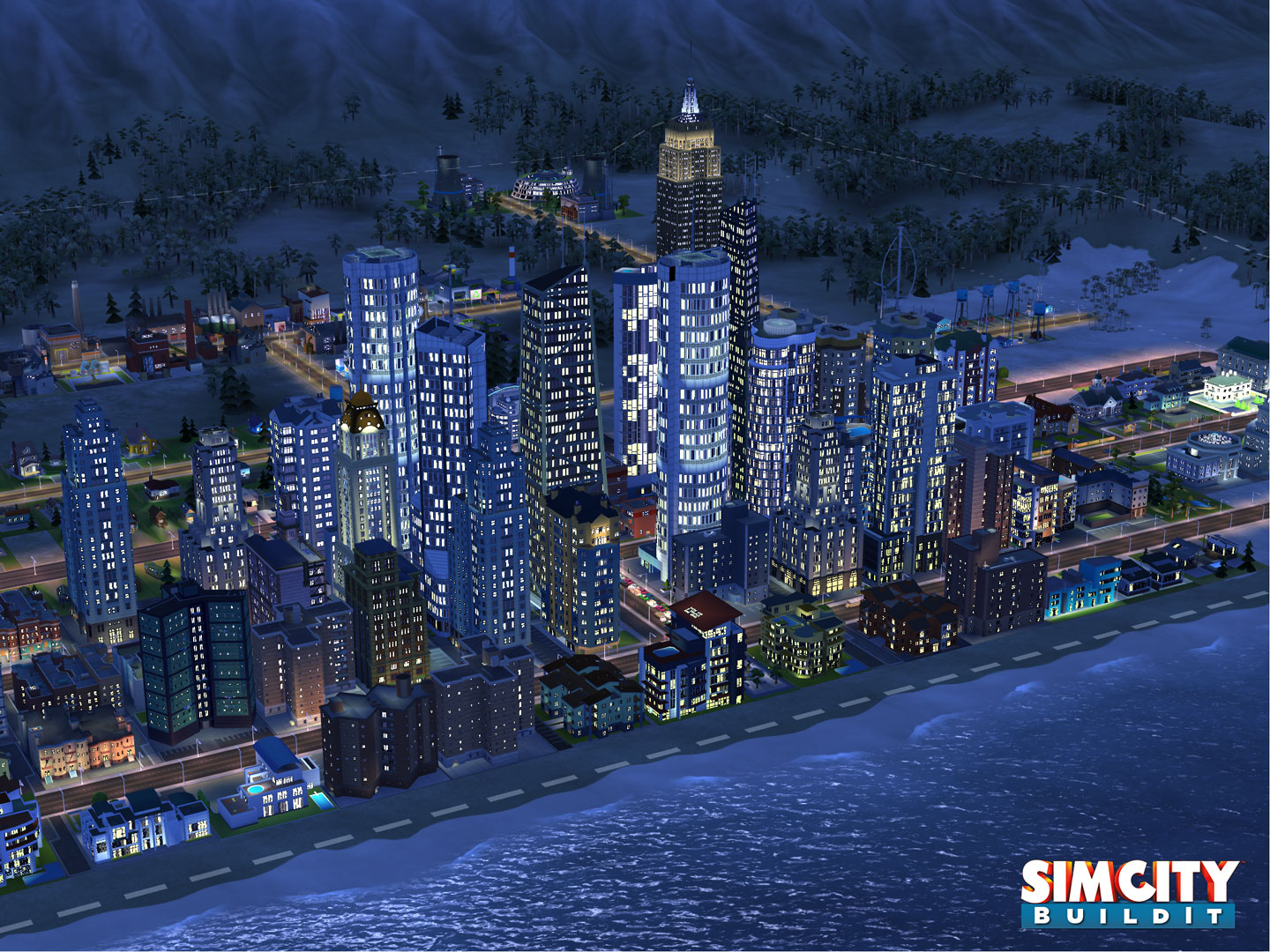 SimCity BuildIt (captura de pantalla 002 del iPad)