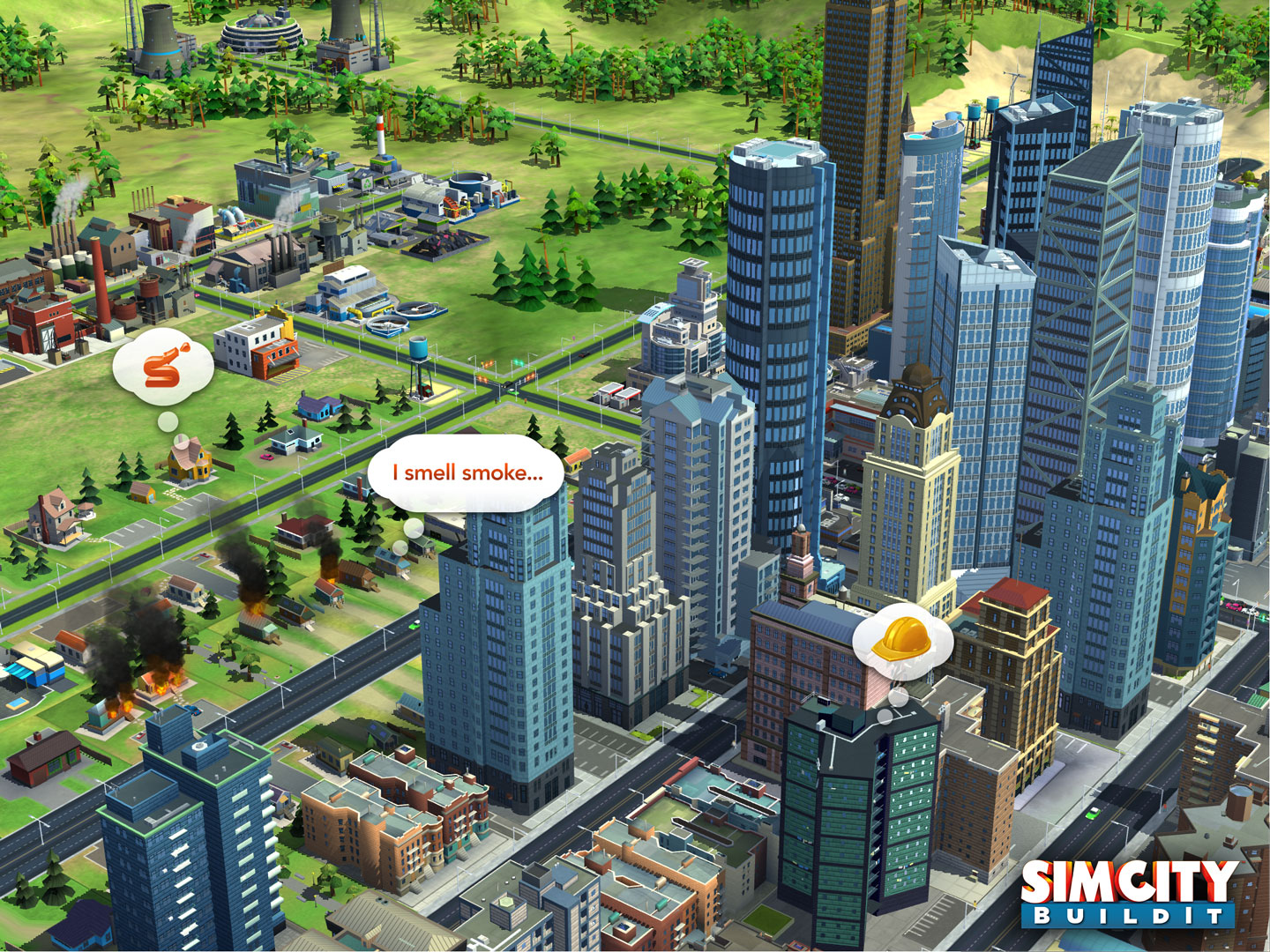 SimCity BuildIt (captura de pantalla 003 del iPad)