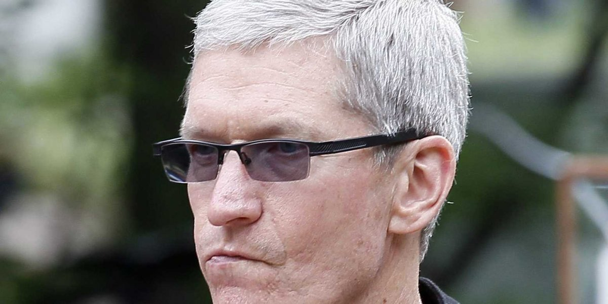 Tim Cook angry pissed upset