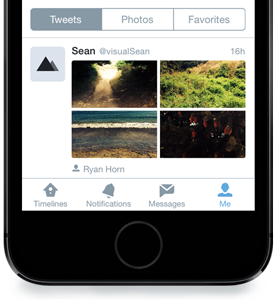 Twitter for iPhone (revamped profiles 002)