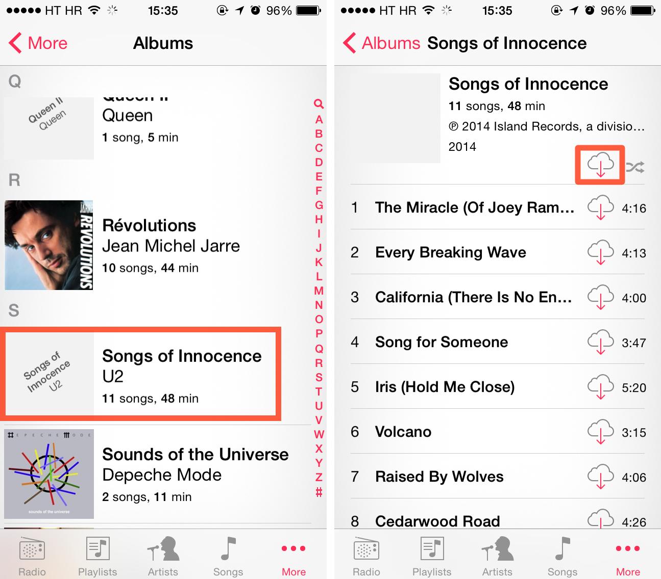 U2 free album on iTunes (image 003)