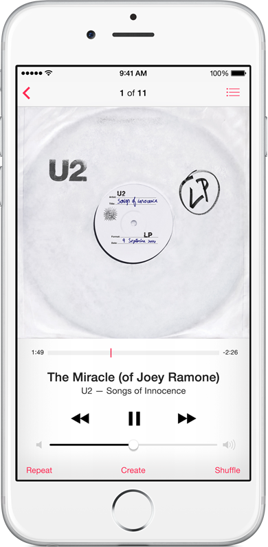 U2 free album on iTunes (image 004)