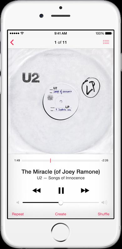 U2 free album on iTunes (image 004)