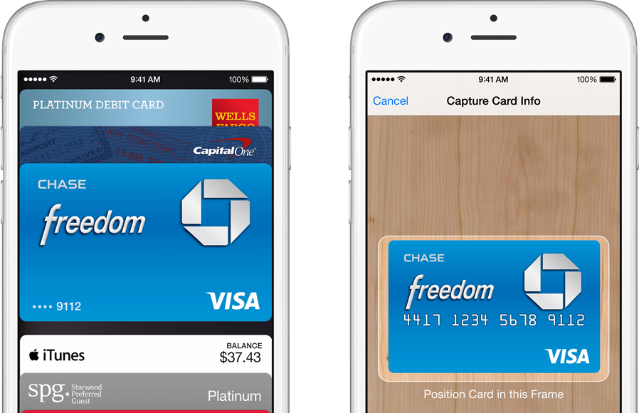 apple pay passbook scan