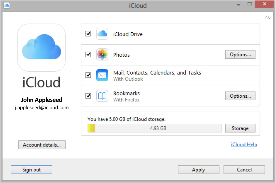 iCloud Drive (Panel, screenshot 001)