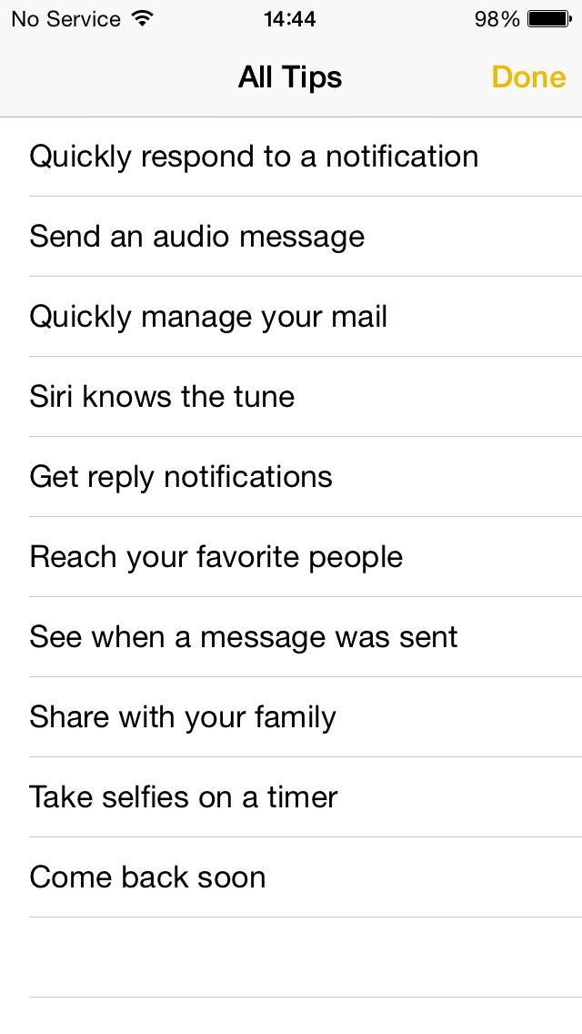 iOS * Tips sept 15