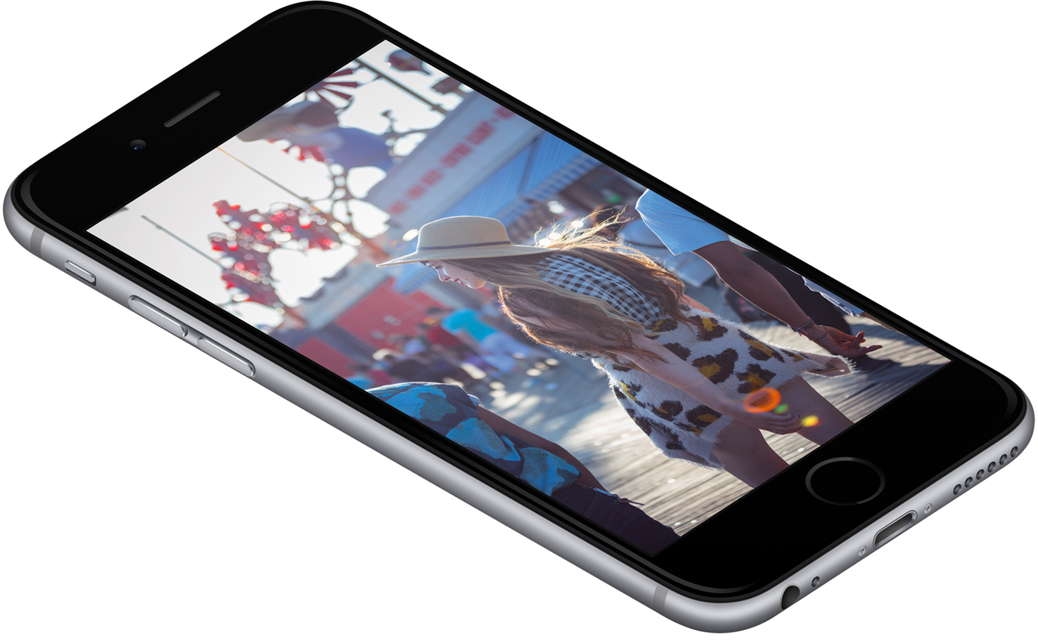 iPhone 6 display color