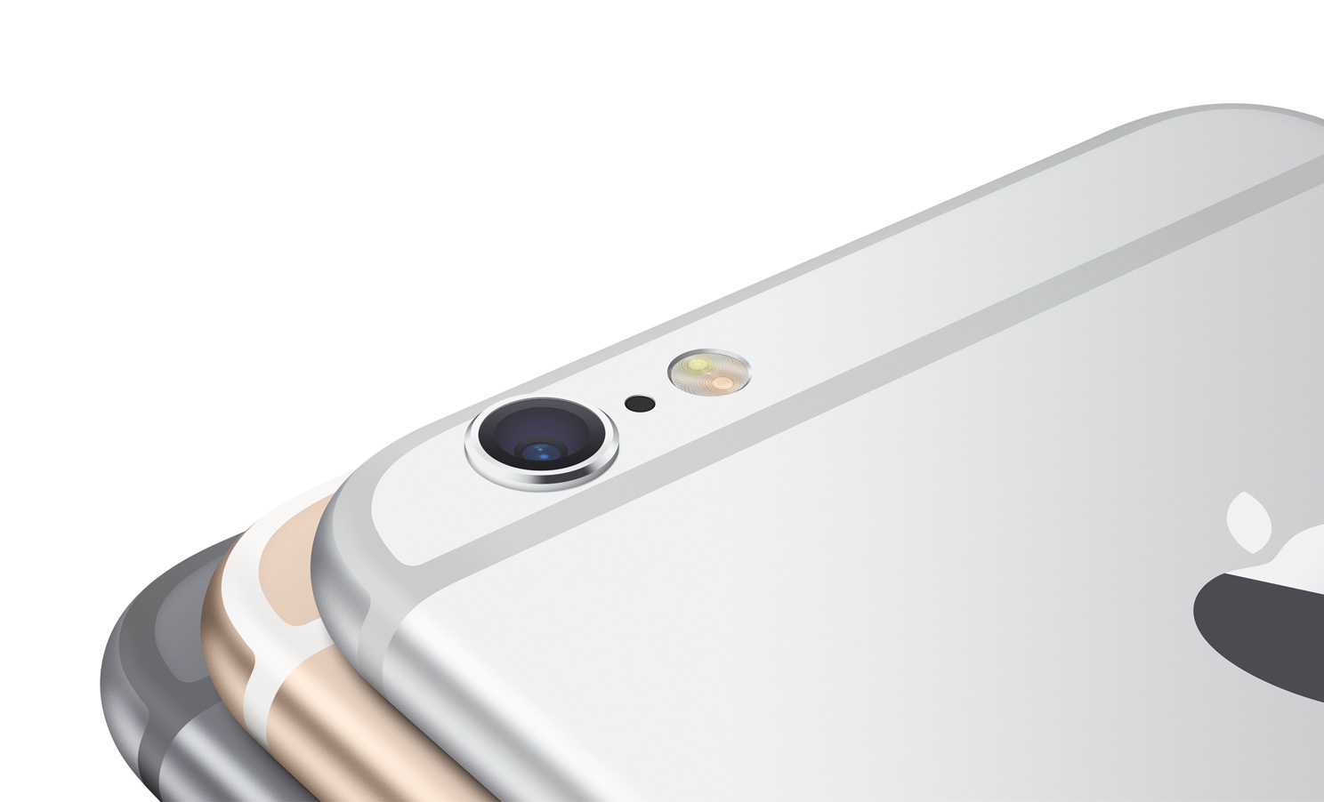 iPhone 6 gray silver gold back camera