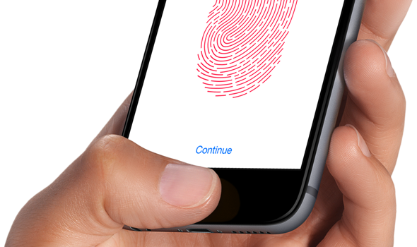 iPhone 6 space gray Touch ID