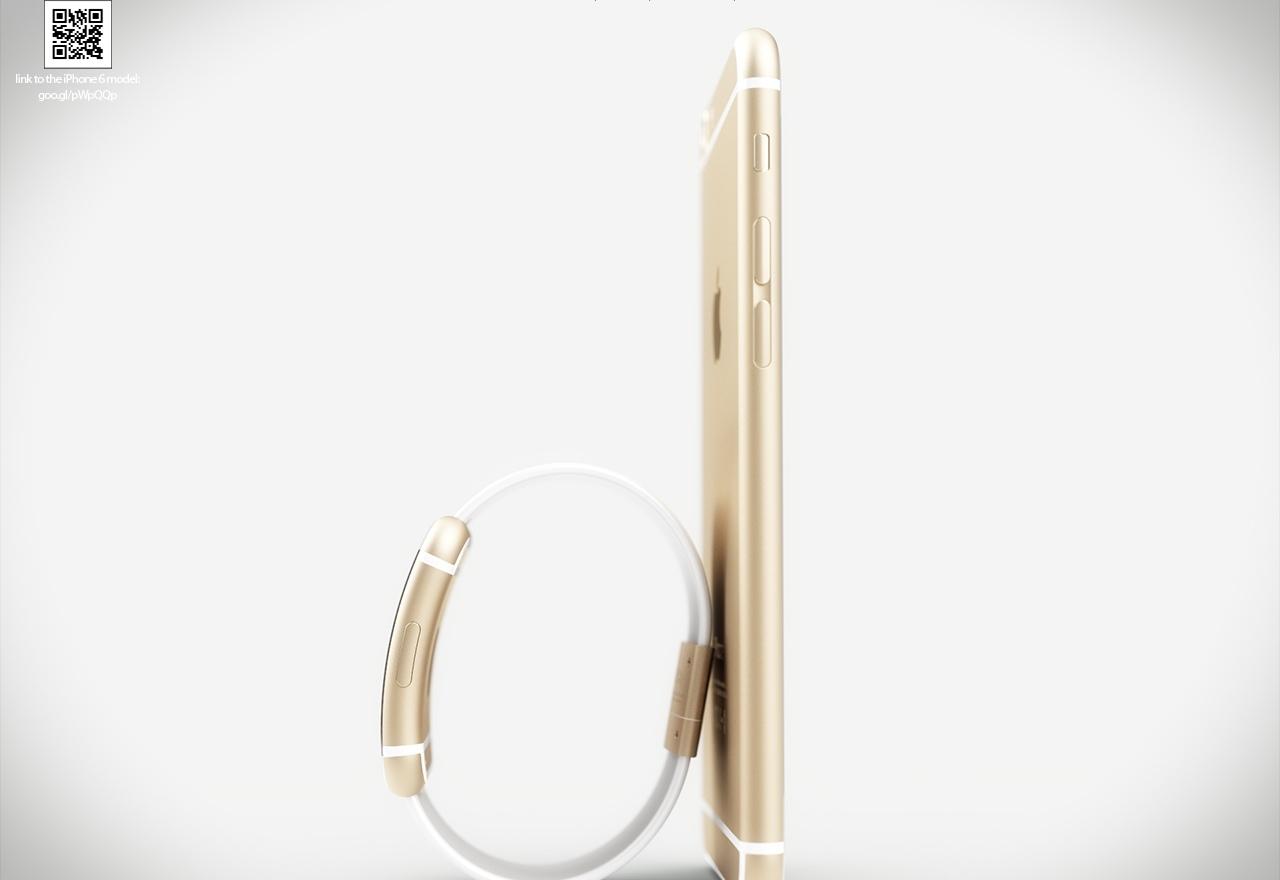 iWatch and iPhone 6 mockup (Martin Hajek 007)