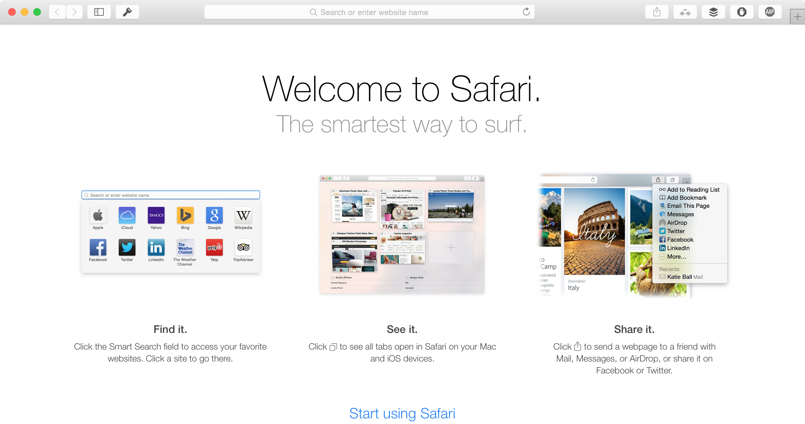 new safari