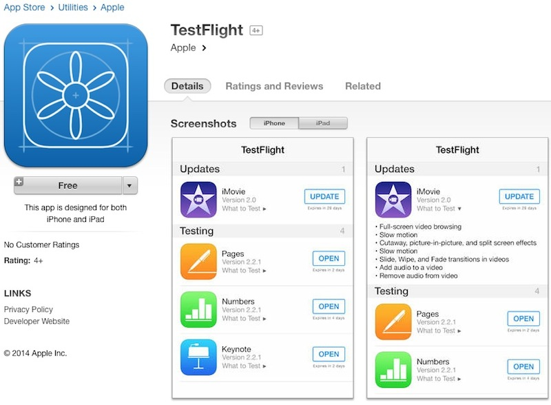 Apple-owned TestFlight surfaces in App Store as native app ahead of
