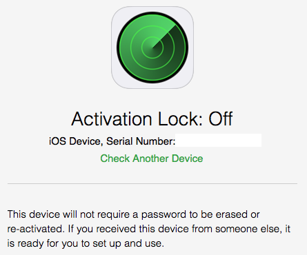 Apple releases tool to check the Activation Lock status of