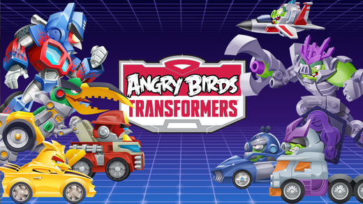 Angry Birds Transformers 1.0 for iOS (iPhone screenshot 001)