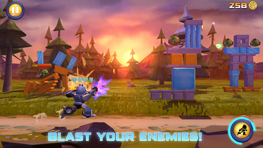 Angry Birds Transformers 1.0 for iOS (iPhone screenshot 002)