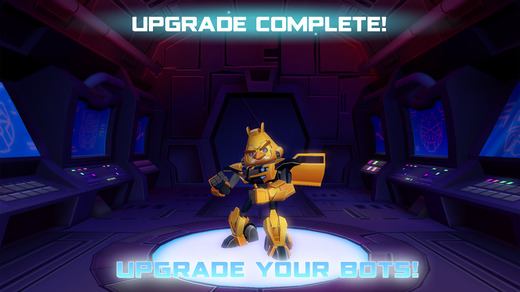 Angry Birds Transformers 1.0 for iOS (iPhone screenshot 003)