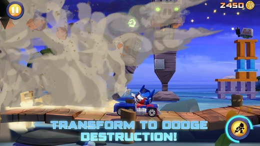 Angry Birds Transformers 1.0 for iOS (iPhone screenshot 005)