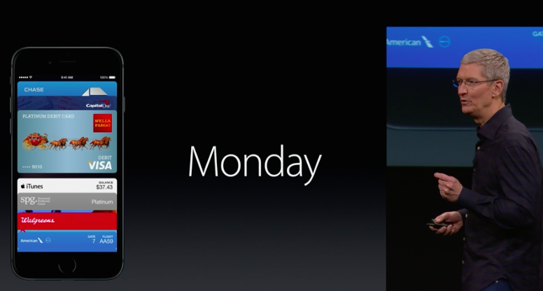 Apple Pay starts monday