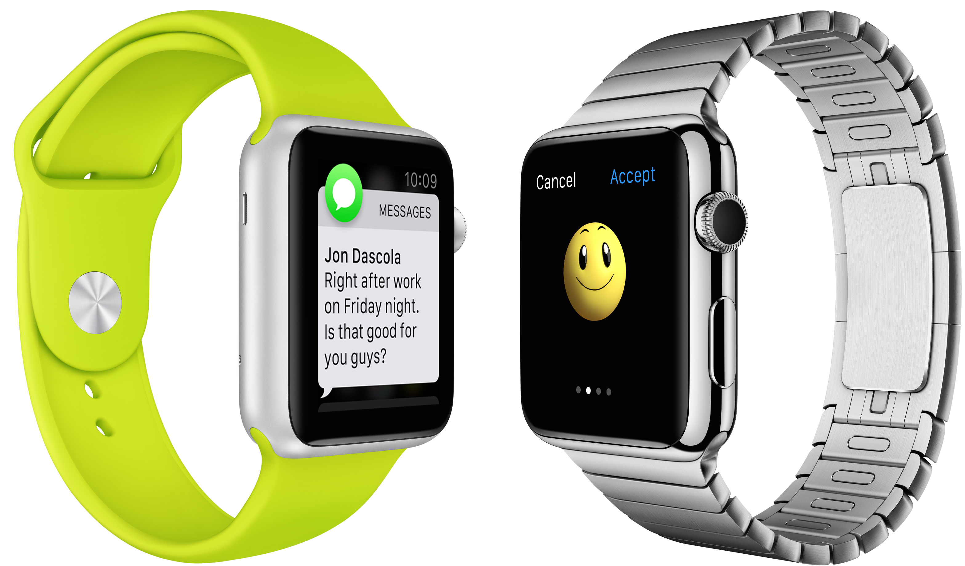 Apple Watch (Messages, Emoji)