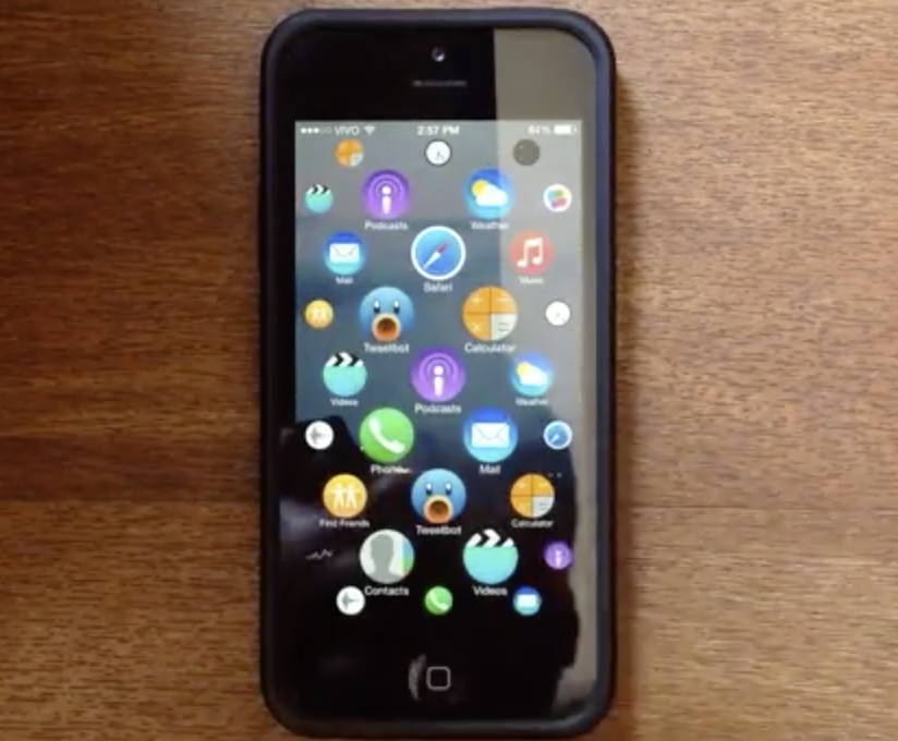 Apple Watch UI iPhone