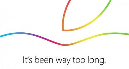 Apple invite (October 2014)