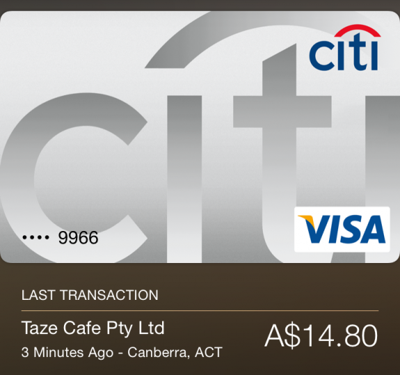 Australian Beau Giles Credit Card