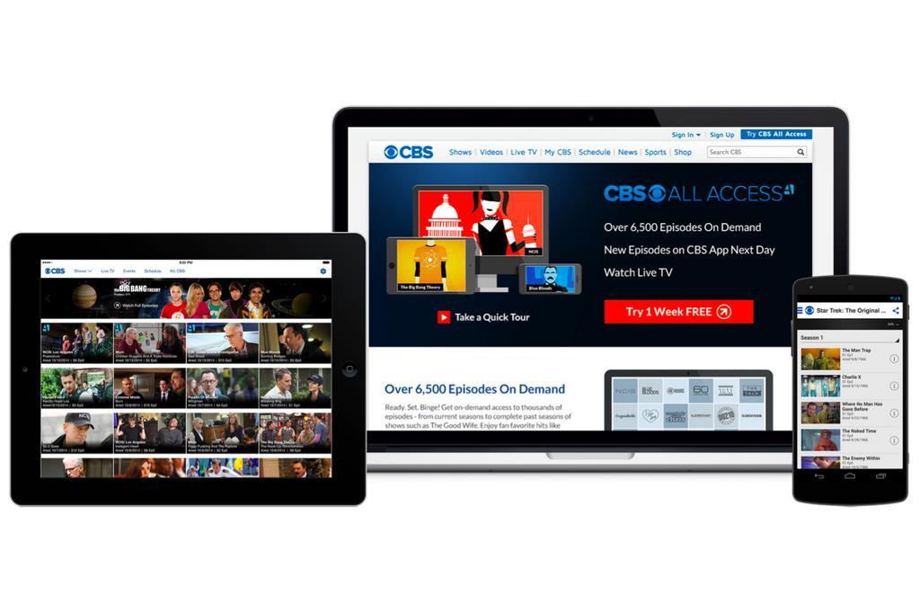 CBS VOD service