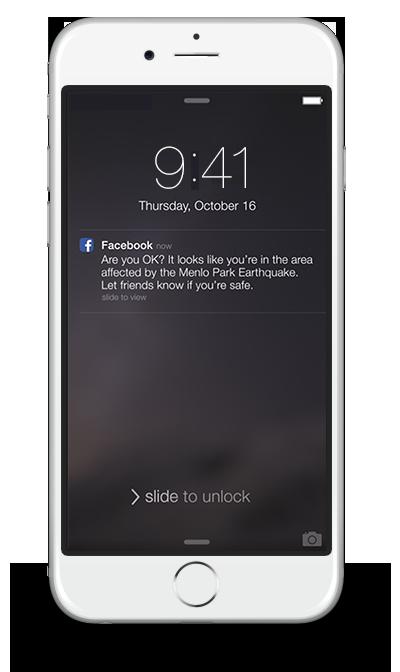 Facebook (Safety Check 002)