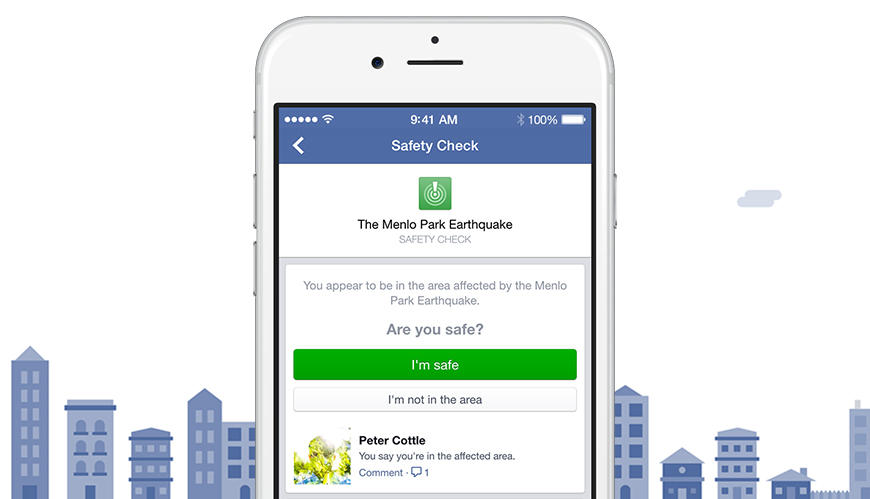 Facebook (Safety Check 003)