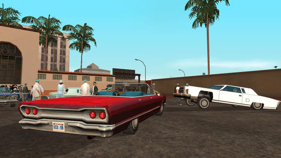 Grand Theft Auto San Andreas 1.04 for iOS (iPhone screenshot 001)