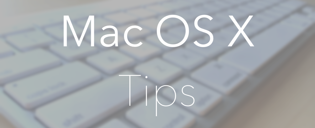 Encabezado de Mac-OS-X-Tips
