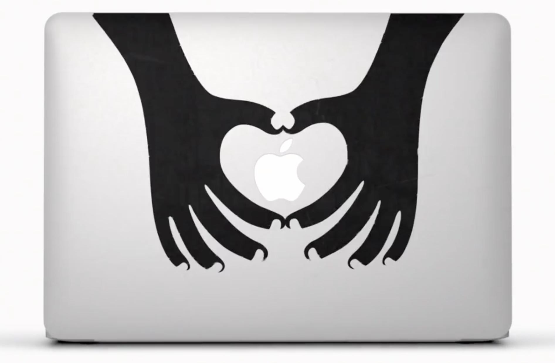 MacBook Air (stickers ad 001)