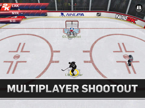 NHL 2K 1.0 for iOS (iPad screenshot 002)