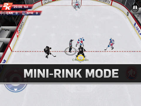 NHL 2K 1.0 for iOS (iPad screenshot 003)