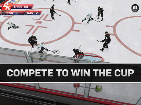 NHL 2K 1.0 for iOS (iPad screenshot 004)