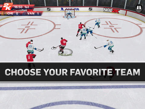 NHL 2K 1.0 for iOS (iPad screenshot 005)