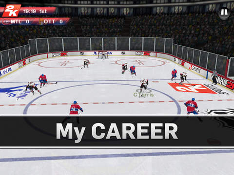 NHL 2K 1.0 for iOS (iPad screenshot 006)