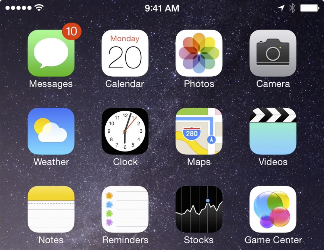 OS X Yosemite iPhone Screen Recording