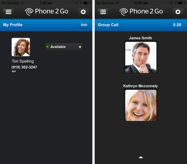 Phone 2 Go 1.0 for iOS (iPhone screenshot 001)