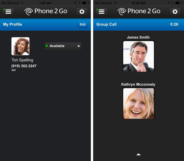 Phone 2 Go 1.0 para iOS (captura de pantalla de iPhone 001)