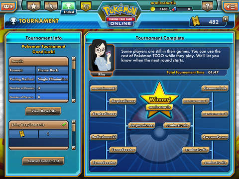 Pokemon TCG Online for iOS (iPad screenshot 004)