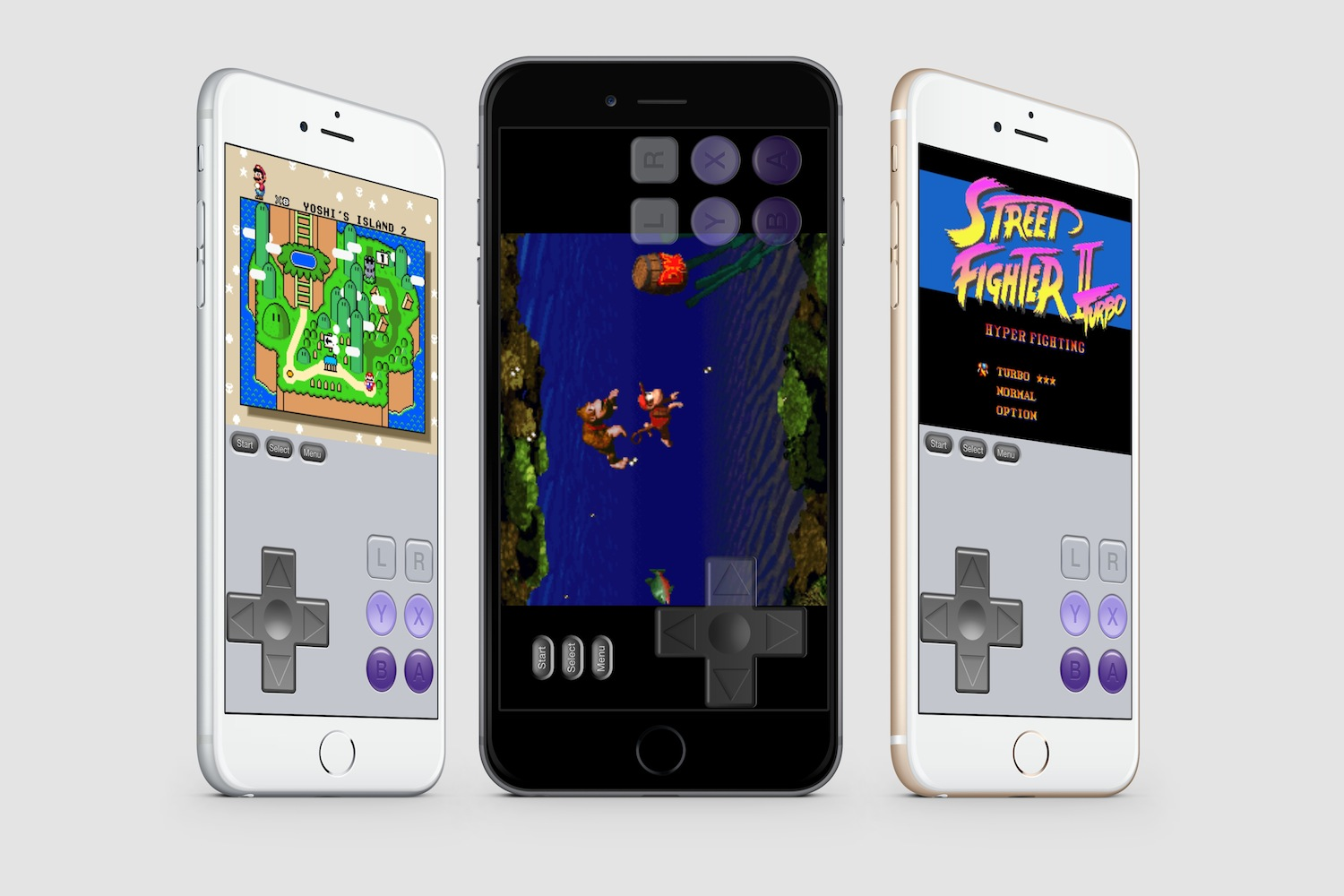 SNES Emulator for iOS 8 splash
