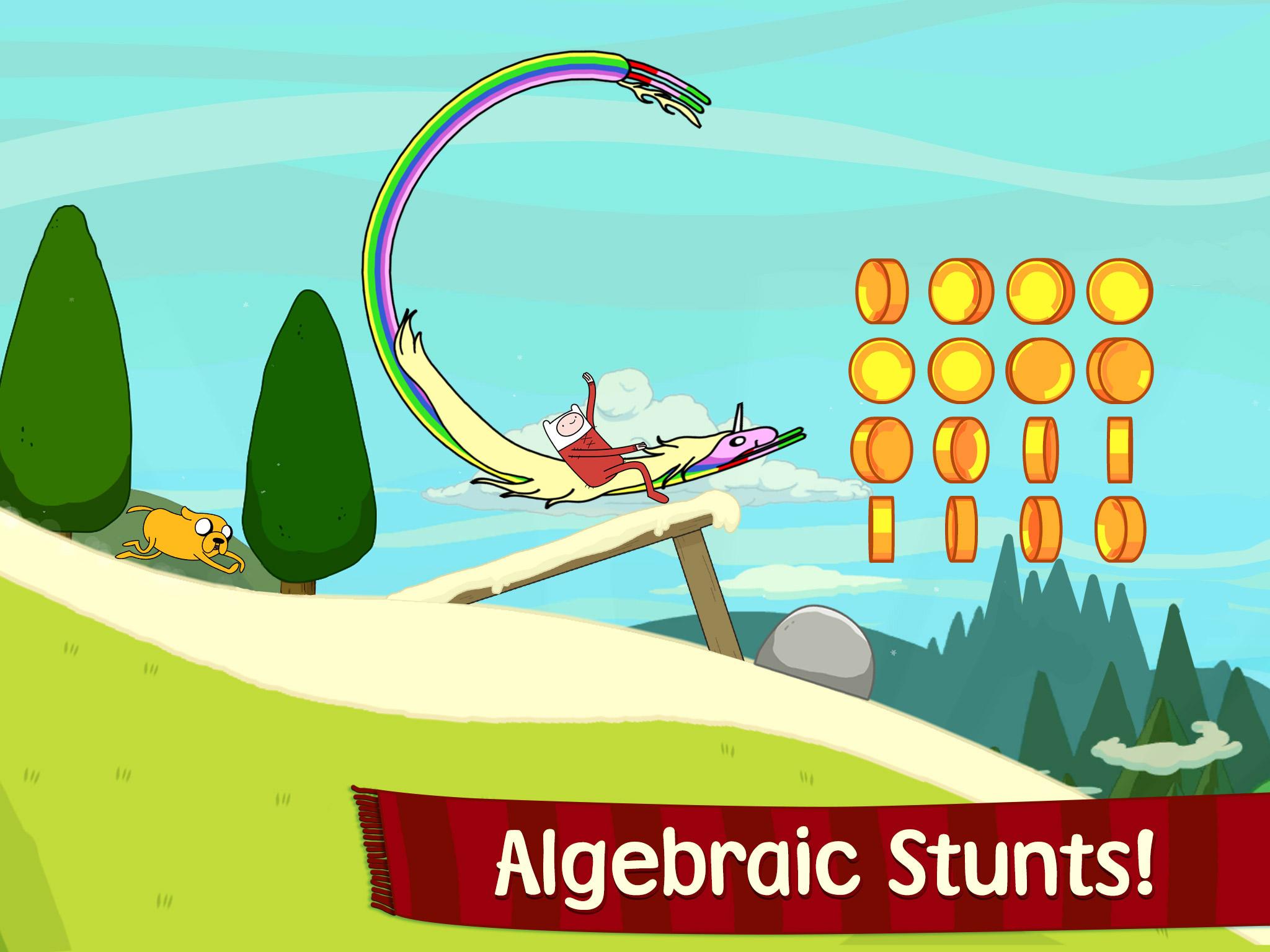 Ski Safari - Adventure Time (iPhone screenshot 001)