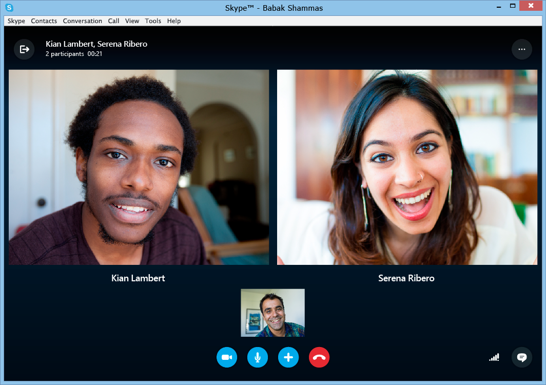 Skype for Windows 7.0 (Screenshot 002)